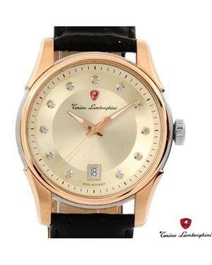 Brand New TONINO LAMBORGHINI Diamond Leather Watch