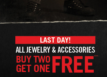 LAST DAY! ALL JEWELRY & ACCESSORIES BUY TWO GET ONE FREE***