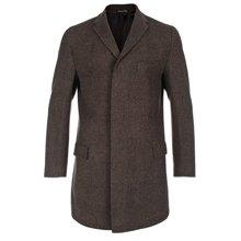 Paul Smith Coats - Brown Windowpane Check Epsom Coat