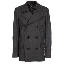 Paul Smith Coats - Grey Pea Coat