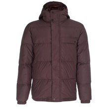 Paul Smith Jackets - Damson Hooded Down Jacket