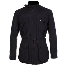 Paul Smith Jackets - Black Quilted Jacket