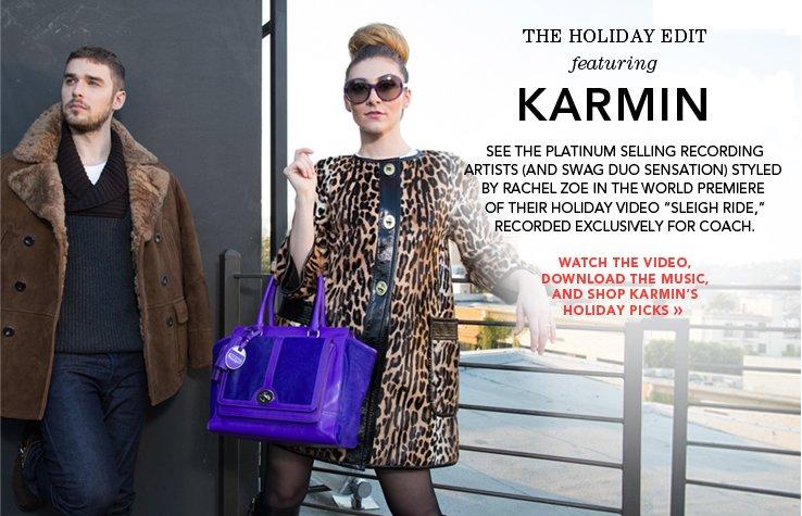 karmin's holiday picks