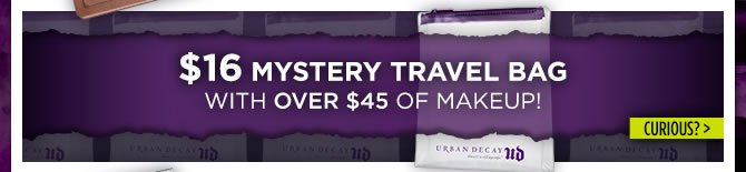 $16 Mystery Travel Bag With Over $45 Of Makeup!  Curious? >