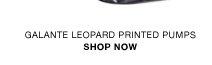 Galante leopard printed pumps