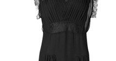 Eilalia silk gown