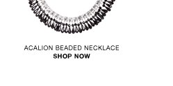 Acalion beaded necklace