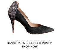 Dancera embellished pumps
