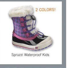 Spruzzi Waterproof Kids