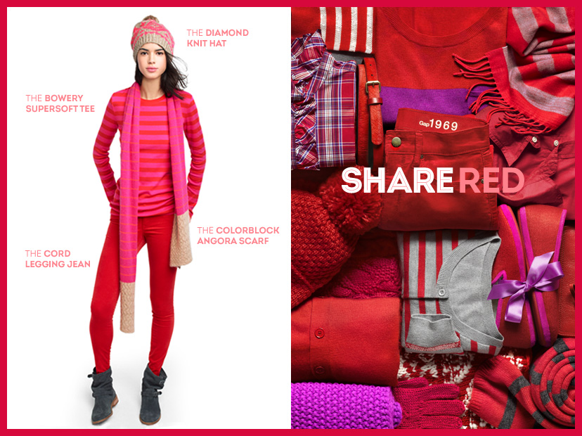 SHARE RED