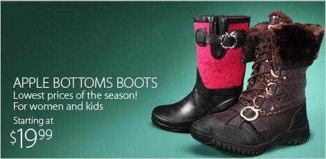 Apple Bottoms Boots