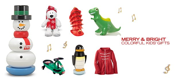 MERRY & BRIGHT: COLORFUL KIDS' GIFTS, Event Ends December 3, 9:00 AM PT >