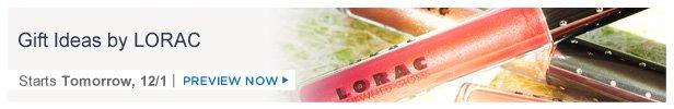 Gift Ideas by LORAC is on HauteLook tomorrow 12/1