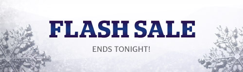 Ends Tonight! Save up to 75% off our Flash Sale