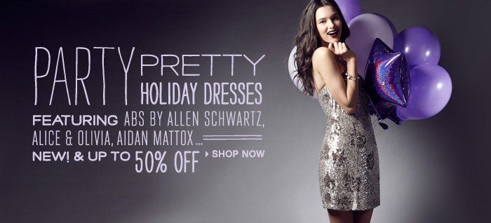 Party Pretty Holiday Dresses