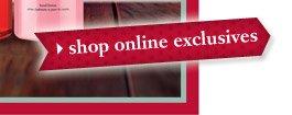 shop online exclusives