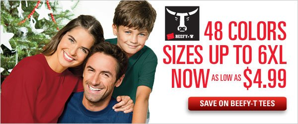 Beefy-T's as low as $4.99