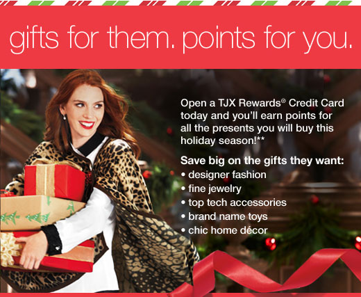 gifts for  them. points for you.