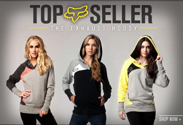 Girls Top Seller - Exhaust Hoody