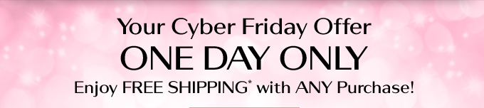 Cyber Friday offer
