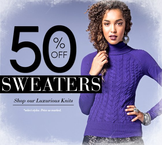 Shop 50% OFF Sweaters