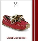 Violet Moccasin