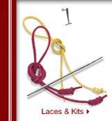 LACES & KITS >