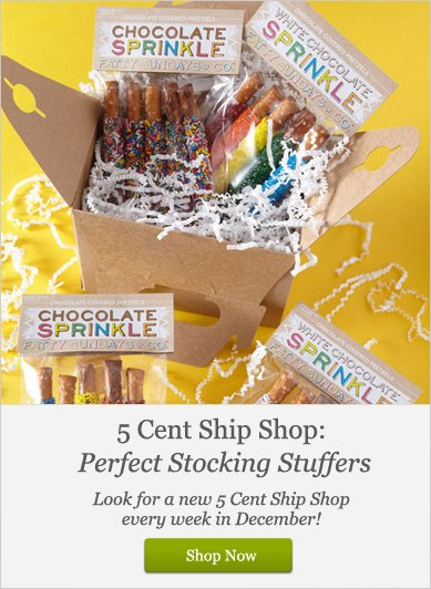 5 cents Ship Shop: Perfect Stocking Suffers - Shop Now