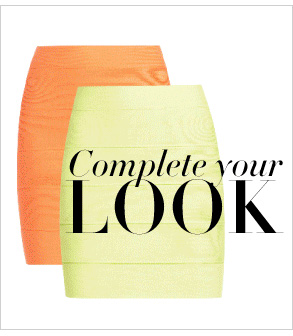 COMPLETE YOUR LOOK