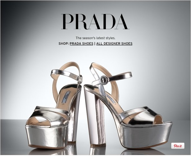 PRADA - The season's latest styles.