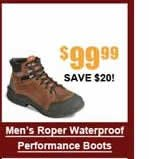 Men's Roper Waterproof Performance Boots