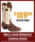 Men's Ariat Wildstock Cowboy Boots