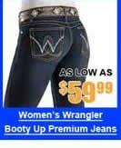 Women's Wrangler Booty Up Premium Jeans