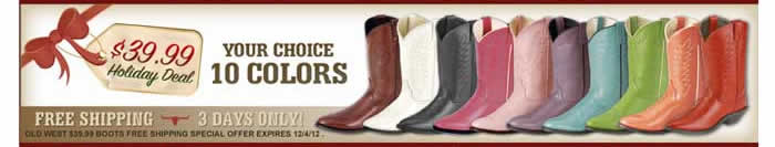 $39.99 Boots