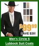 Men's Circle S Lubbock Suit Coats