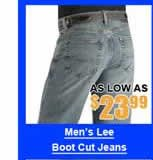 Men's Lee Boot Cut Jeans