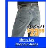 Men's Lee Boot Cut Jeans