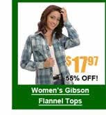 Women's Gibson Flannel Tops