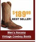 Men's Nocona Vintage Cowboy Boots
