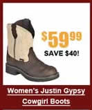 Women's Justin Gypsy Cowgirl Boots