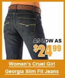 Women's Cruel Girl Georgia Slim Jeans