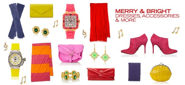 MERRY & BRIGHT: DRESSES, ACCESSORIES & MORE, Event Ends December 4, 9:00 AM PT >