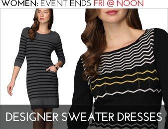 DESIGNER SWEATER DRESSES