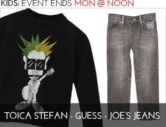 TOICA STEFAN & GUESS JEANS