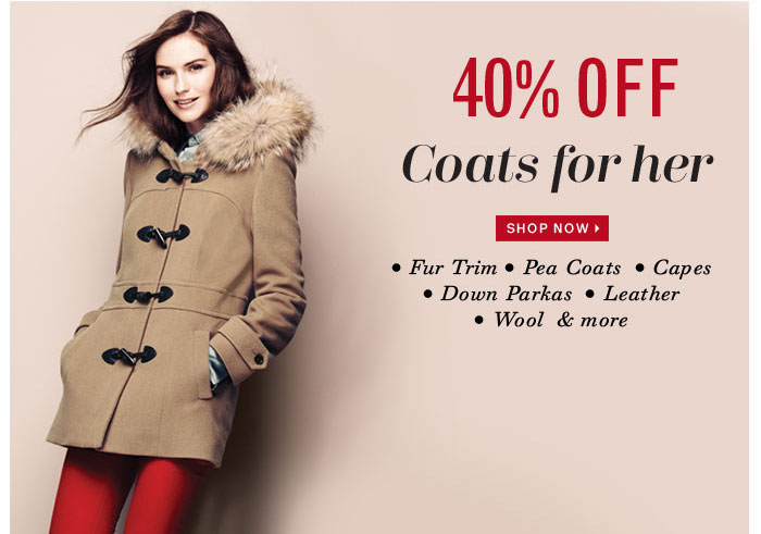 Shop Now Coats