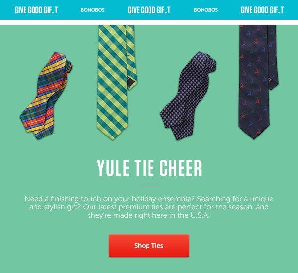 Yule Tie Cheer