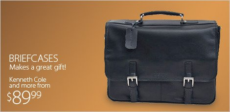 Briefcases: Featuring Kenneth Cole and more