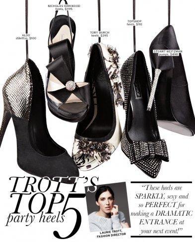 Trott's Top 5: Party Heels