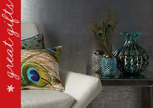 Peacock-Inspired Decor