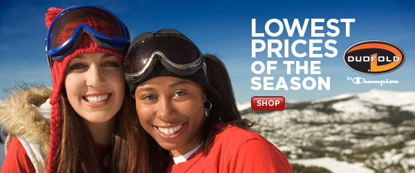 Season's Lowest Prices - Duofold(R) by Champion(R) gear